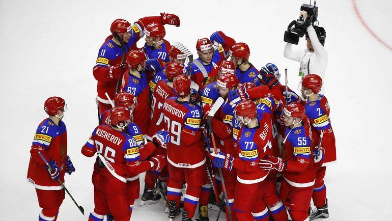 Вчера. Кельн. Швеция - Россия - 1:2 Б. Россияне праздную первую победу на турнире. Фото Reuters