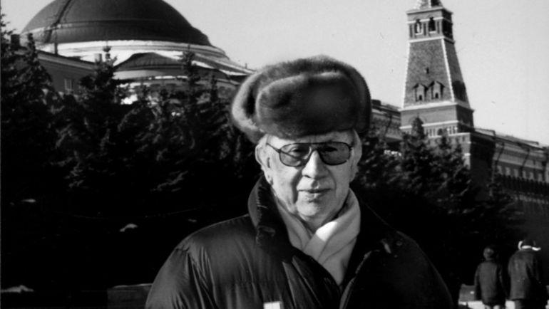 "Хуан Антонио САМАРАНЧ на Красной площади. Фото ""СЭ"""