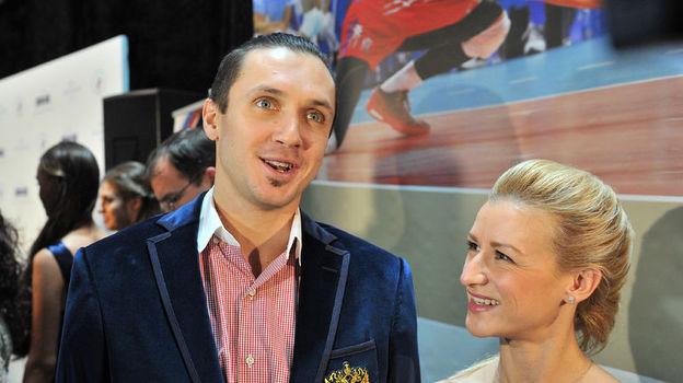 Максим ТРАНЬКОВ (слева) и Татьяна ВОЛОСОЖАР. Фото Алексей ИВАНОВ, «СЭ»