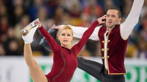 Татьяна ВОЛОСОЖАР и Максим ТРАНЬКОВ. Фото Reuters