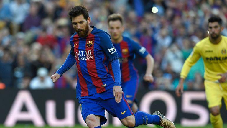 """Суббота. Барселона. """"Барселона"""" – """"Вильярреал"""" – 4:1. Лионель МЕССИ. Фото AFP"""