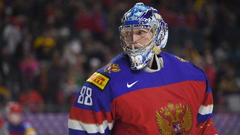 Вратарь сборной России Андрей ВАСИЛЕВСКИЙ. Фото AFP