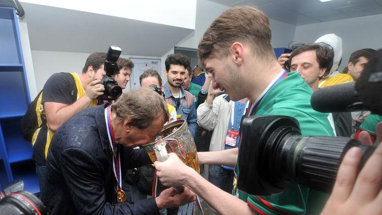 """Юрий СЕМИН (слева) и Алексей МИРАНЧУК. Фото Алексей ИВАНОВ, """"СЭ"""""""