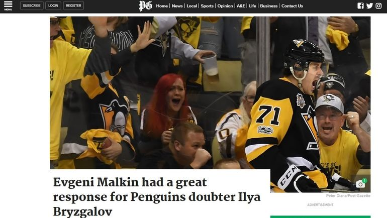 The Pittsburg Post-Gazette.