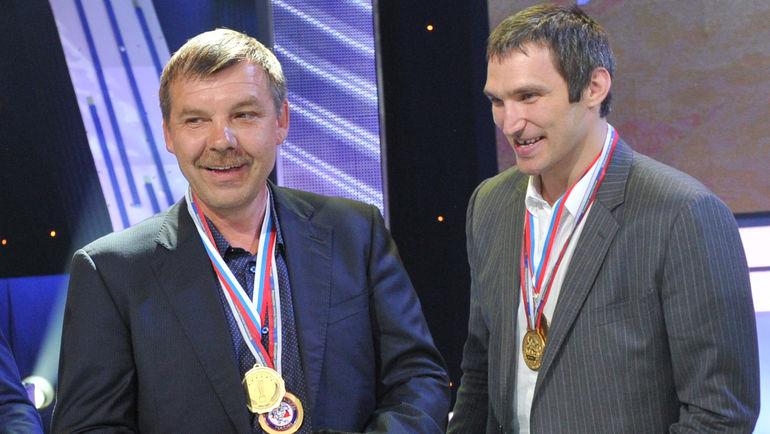 Олег ЗНАРОК и Александр ОВЕЧКИН. Фото Reuters