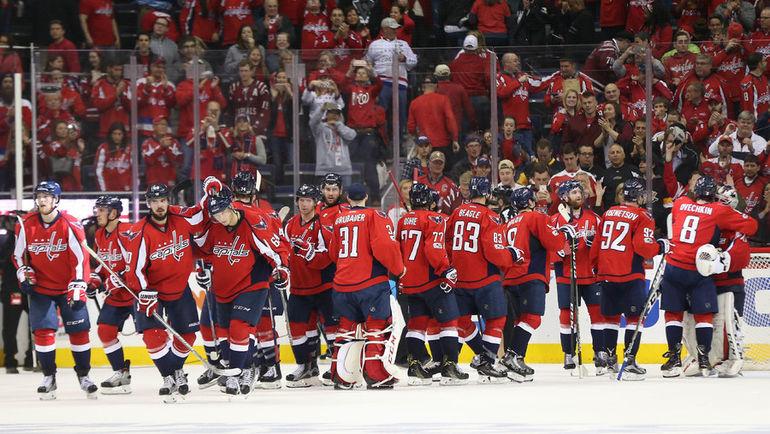 """6 мая. Вашингтон. """"Вашингтон"""" – """"Питтсбург"""" - 4:2. Победа в пятом матче серии не помогла """"Кэпиталз"""" пройти в следующий раунд плей-офф. Фото Reuters"""