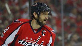 Александр ОВЕЧКИН лидирует в НХЛ по количеству бросков по воротам соперников и силовым приемам.