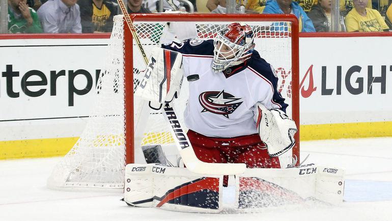 Лучший российский вратарь в НХЛ Сергей БОБРОВСКИЙ. Фото USA Today