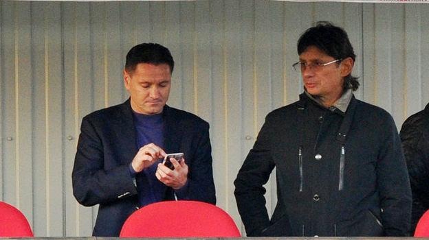 Дмитрий АЛЕНИЧЕВ и Леонид ФЕДУН. Фото Александр ФЕДОРОВ, «СЭ»