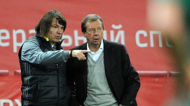 Дмитрий ЛОСЬКОВ и Юрий СЕМИН. Фото Алексей ИВАНОВ, «СЭ»