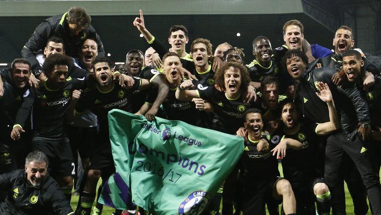 """Пятница. Уэст-Бромидж. """"Вест Бромвич"""" - """"Челси"""" - 0:1. Новый чемпион Англии. Фото Reuters"""