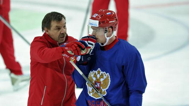 Олег ЗНАРОК и Евгений КУЗНЕЦОВ. Фото Алексей ИВАНОВ, «СЭ»