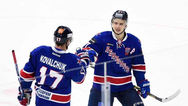 Илья КОВАЛЬЧУК и Вадим ШИПАЧЕВ: из Питера в Вегас? Фото Reuters