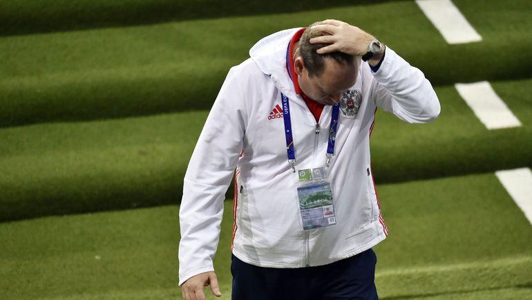 В Англии обращают внимание на результат сборной России Леонида СЛУЦКОГО на Euro-2016. Фото AFP