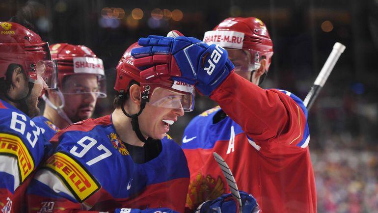 Чтобы гарантировать первую строчку, россиянам желательно обыграть в последнем матче США. Фото AFP