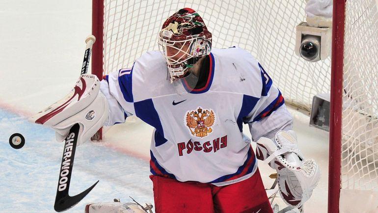 2010 год. Илья БРЫЗГАЛОВ в составе сборной России. Фото AFP