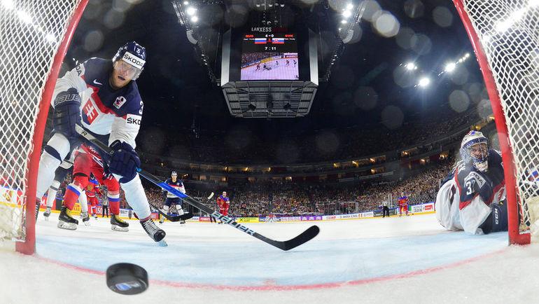 Сборная Словакии может не только не попасть в плей-офф, но и лишиться места в элите. Фото Reuters