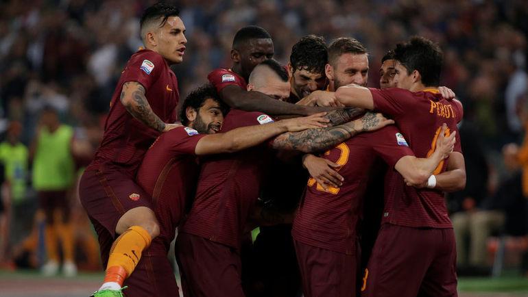 """Воскресенье. Рим. """"Рома"""" - """"Ювентус"""" - 3:1. Римляне не позволили гостям стать чемпионами на их стадионе. Фото Reuters"""