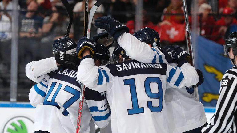 Финны - потенциальный противник России по четвертьфиналу. Фото AFP
