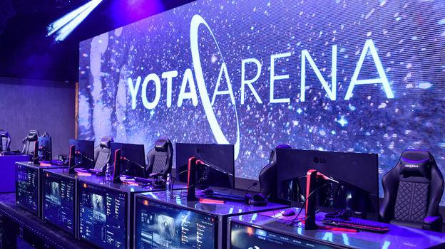 Yota Arena. Фото Esforce.