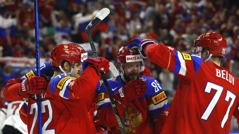 Россия пока идет без поражений на чемпионате мира. А вот Канада один раз уже оступилась. Фото Reuters