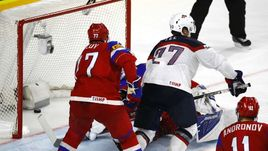 Сегодня. Кельн. Россия – США – 3:5. Победная шайба американца Андерса ЛИ в ворота россиян.