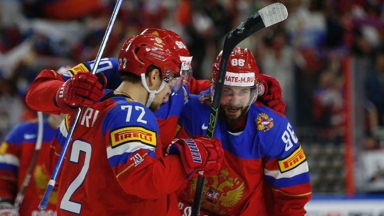 Россия - Чехия: битва за полуфинал. Фото AFP