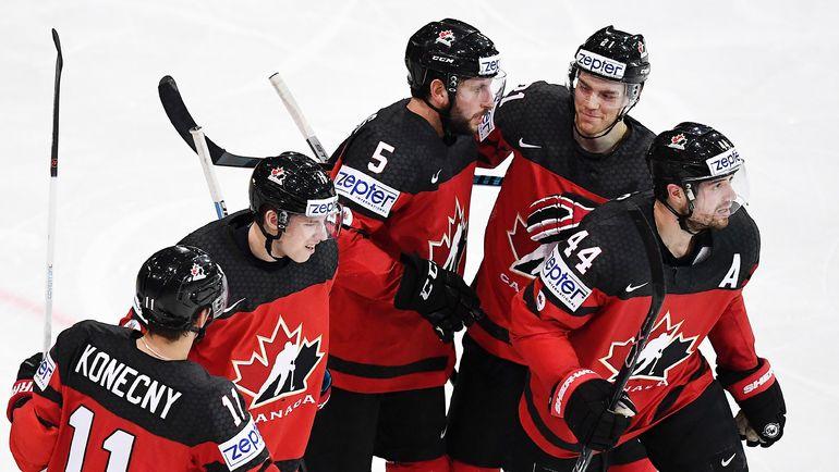 В полуфинале победителя матча Россия - Чехия, скорее всего, будет ждать грозная Канада. Фото Reuters