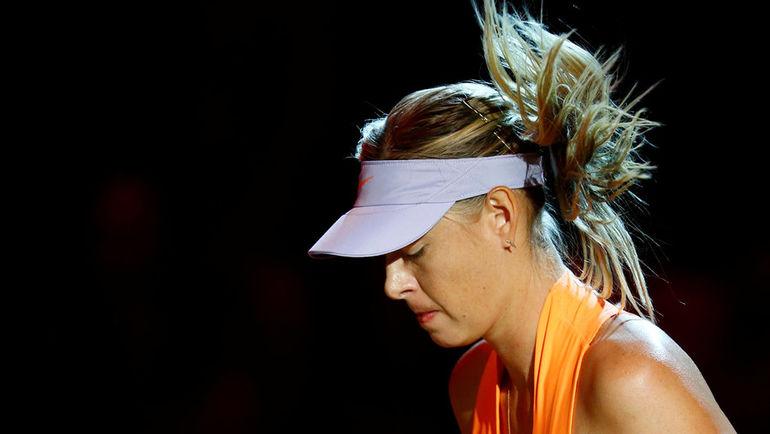 Мария ШАРАПОВА пропустит Roland Garros. Фото Reuters