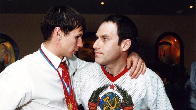 Егор ТИТОВ и Михаил ШАЦ. Фото из личного архива Егора Титова