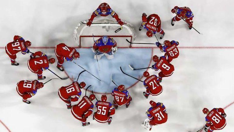 Сборная России готовится к четвертьфиналу с Чехией. Не пропустите! Фото Reuters