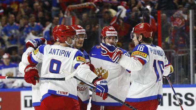Россия vs Канада: полуфинал в Кельне. Фото Reuters