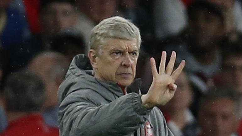 Арсену ВЕНГЕРУ на этот раз не попасть на любимое четвертое место. Фото AFP