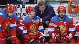 Сегодня сборная России Олега ЗНАРКА проведет новый матч с Канадой. На этот раз Евгения МАЛКИНА (№71) и Александра ОВЕЧКИНА (№8) не будет за спинами Евгения КУЗНЕЦОВА и его партнеров.