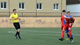 Драка юношей во время матча в Волгограде.