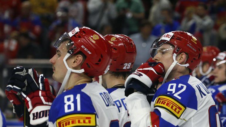Суббота. Кельн. Канада - Россия - 2:4. Эмоции россиян после поражения. Фото REUTERS