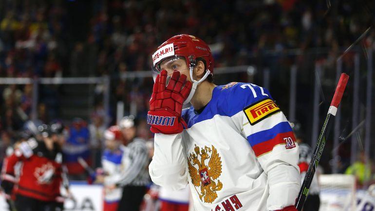 Суббота. Кельн. Канада - Россия - 4:2. Артемий ПАНАРИН. Фото AFP