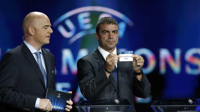 Мануэль САНЧИС (справа). Фото Reuters