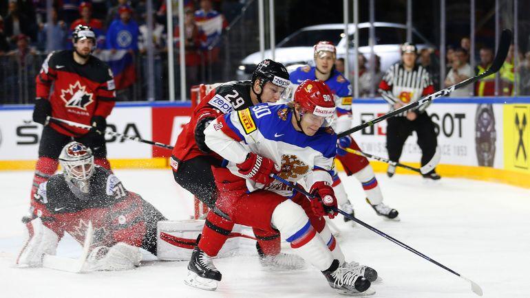 В игре Владислав НАМЕСТНИКОВ. Фото AFP