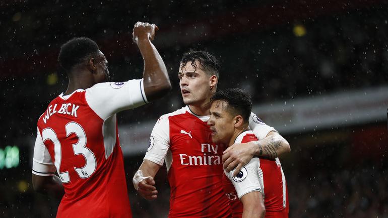 """Смогут ли игроки лондонского """"Арсенала"""" пробиться в зону Лиги чемпионов? Фото AFP"""