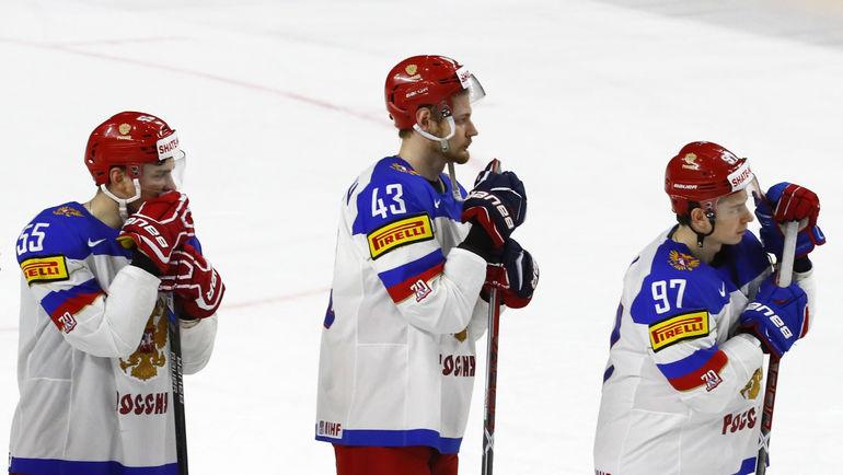 Вчера. Кельн. Канада - Россия - 4:2. Российские хоккеисты вновь проиграли канадцам. Фото Reuters