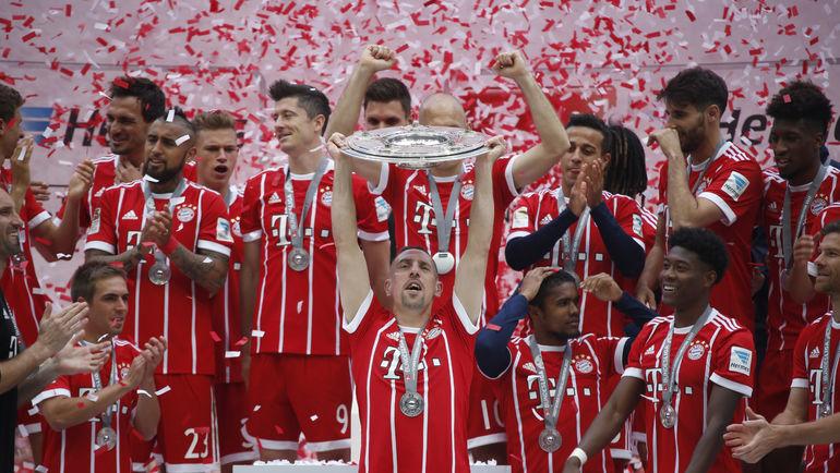 """""""Бавария"""" - снова чемпион. Фото Reuters"""