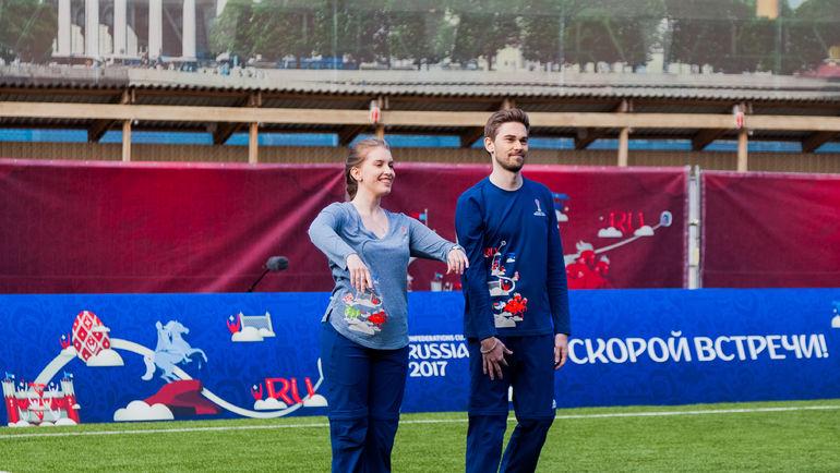 Униформа волонтеров на Кубок конфедераций-2017. Фото fifa.org