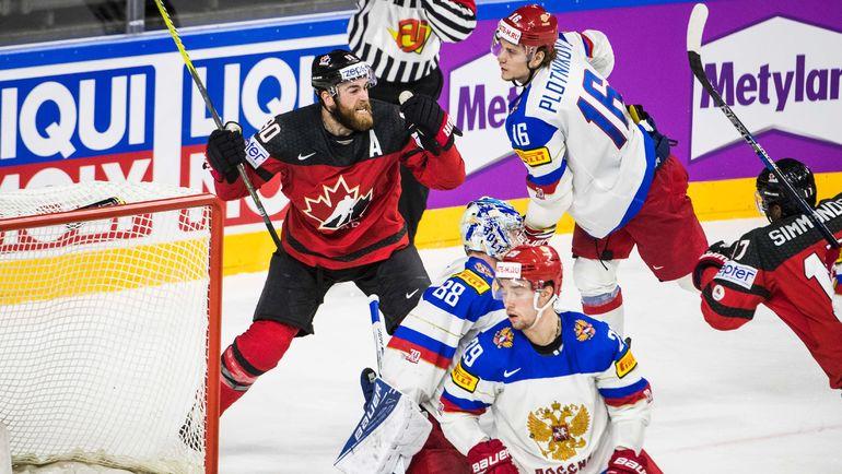 Россияне провалили третий период с Канадой. Фото AFP