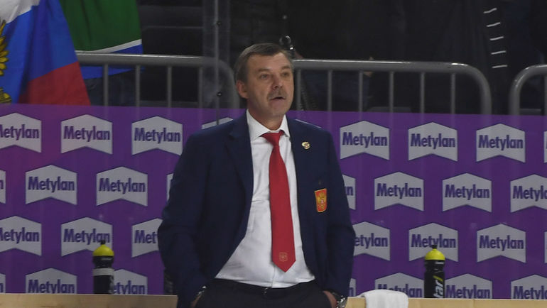 Главный тренер сборной России Олег ЗНАРОК. Фото Reuters