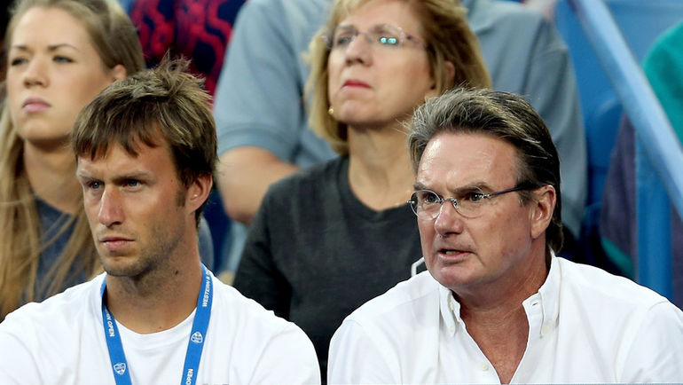 Джимми КОННОРС (справа) был тренером Марии Шараповой. Фото AFP