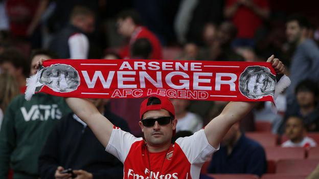 """Болельщик """"Арсенала"""". Фото AFP"""