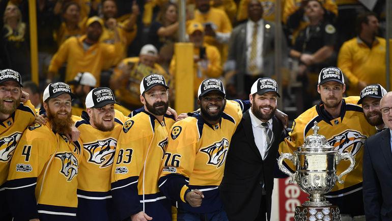 """""""Нэшвилл"""" - чемпион Западной конференции НХЛ. Фото REUTERS"""