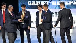 Церемония закрытия сезона КХЛ. LIVE!