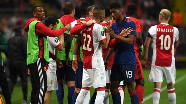 """Среда. Стокгольм. """"Аякс"""" - """"Манчестер Юнайтед"""" - 0:2. Голландцы не смогли преподнести сенсацию. Фото AFP"""